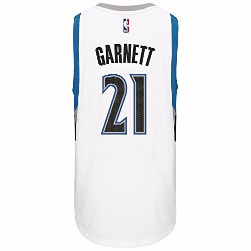 adidas Minnesota Timberwolves Kevin Garnett Swingman Jersey White (XX-Large)