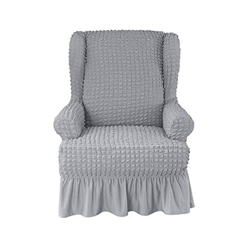LYY Stuhl Schonbezug, 1 Stück rutschfeste Stuhlbezüge Sesselbezüge Sofa Schonbezug Seersucker Armchair Recliner Chair