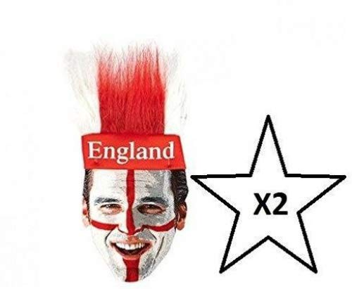 World Cup St. George England hoofdband WM-voetbal - 2 hoofdbanden inclusief WM-Party