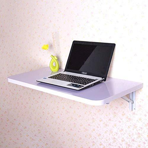 WECDS Mesa plegable de tamaño pequeño, mesa de ordenador para montaje en pared, escritorio de hoja caída, mesa de comedor, 4 tamaños 5 colores opcionales (color: C, tamaño: 100 x 40 cm)