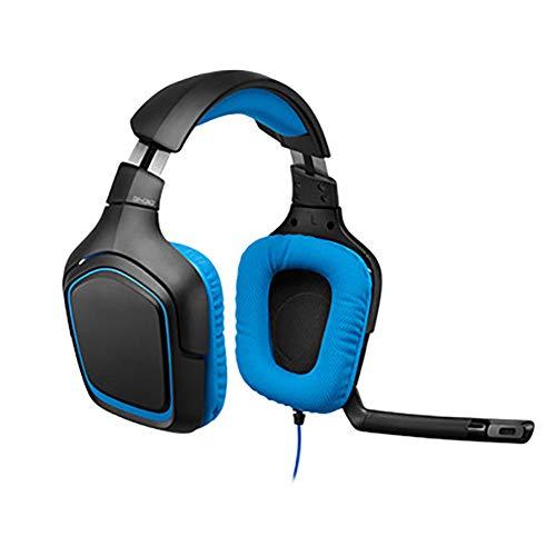 YPJKHL G231 Wired Gaming Headset, Flexible Lautstärkeregelung, 3,5-mm-Surround-Sound-Gaming-Headset für PCs, Laptops und Videospiele