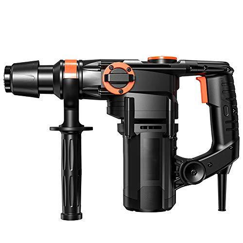 JIN GUI 1300W Hammer Drill,Multifunctional Impact Electric Drill,Keyed Chuck, 360°Rotating Handle, 5 Pcs Accessories Set, for Brick, Wood, Steel, Masonry