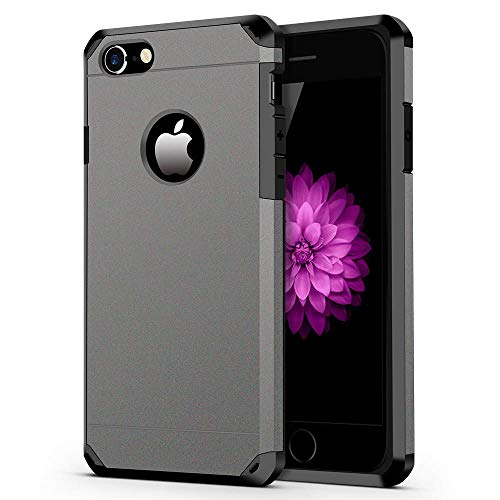 iPhone 7/8 Case, ImpactStrong Heavy Duty Dual Layer Protection Cover Heavy...