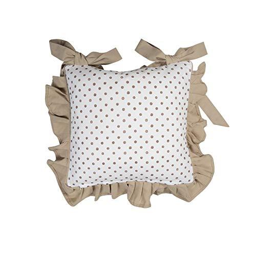 CLAYRE & EEF Set 2 federe cuscino sedia coniglio 40x40 cm REB25
