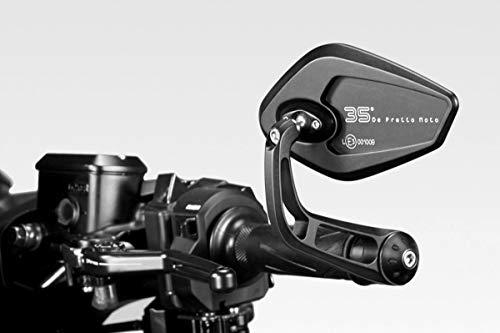 TMAX 2017/19 - Kit Espejos 'Revenge' S (R-0841) - Homologados - Retrovisores Laterales Manillar - Aluminio - Accesorios De Pretto Moto (DPM Race) - 100% Made in Italy
