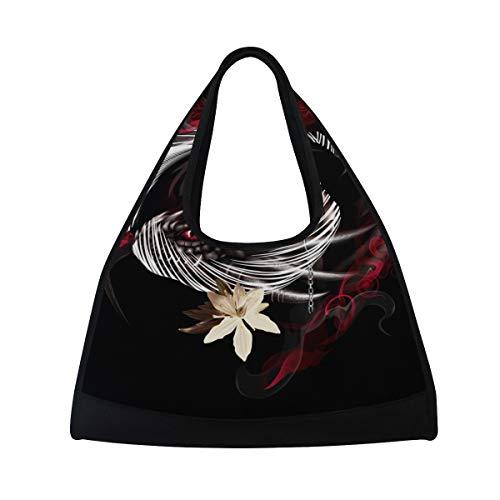 MONTOJ Damen-Sporttasche mit Drachen-Motiv