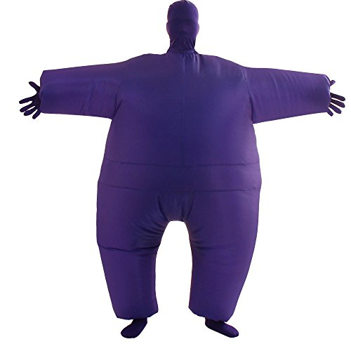 VOCOO Lnflatable Costumes Adult Size Inflatable Body Suits Pants (purple), 14x3x12