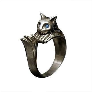 مجموعة خواتم TORCH TORCH Dark Souls / Silvercat خاتم للرجال S M L XL الولايات المتحدة الحجم: 8.5-11 المملكة المتحدة: Q S T...