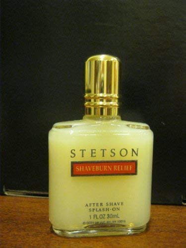 Stetson by Coty SHAVEBURN RELIEF After shave Splash On 1 oz