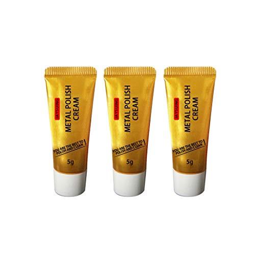 Masrin Ultimate Metal Cleaner Polish Cremerostentferner Nicht schädlich Saubere Edelstahl Keramikuhr 1/3/6 PC (3PC)