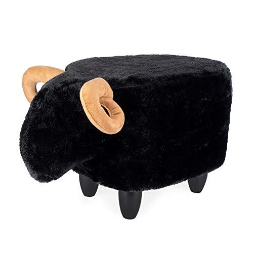 Balvi Le Mouton kruk in de vorm van een schaap polyester/hout