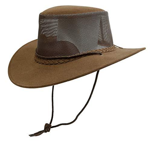 Sombrero de verano de malla Breeze, sombrero de microfibra con malla, fabricado en Australia