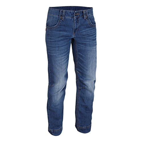 SALEWA Damen Hose Verdon 2.0 CO W Pants, Jeans Blue, 38/M, 00-0000024821