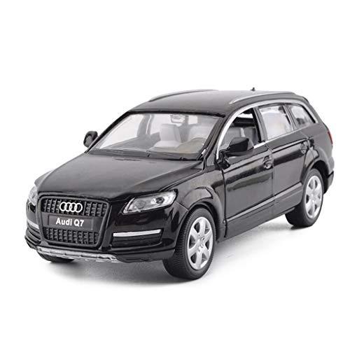 CIGONG Modelo Car1: 32 Modelo De Coche De Juguete Estático De Aleación De Fundición A Presión De Simulación Modelo de Auto (Color : Black)