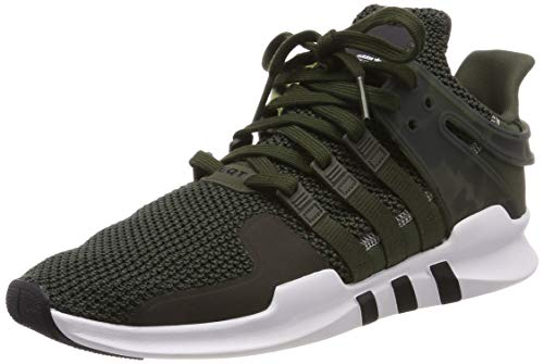 adidas EQT Support ADV, Zapatillas de Gimnasia Hombre, Verde (Night Cargo/FTWR White/Core Black Night Cargo/FTWR White/Core Black), 39 1/3 EU