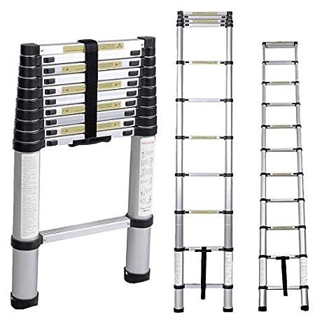 Soge Aluminum Telescopic Extension Ladder