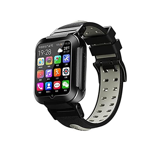 E7 4G niños niños Inteligente Reloj GPS WiFi Seguimiento Vídeo de Voz Llamada Chat Pedómetro Mesgae Push para niños Gilrs Estudiantes,B