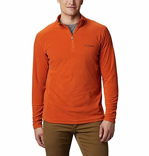 Columbia Herren Klamath Range II Half Zip Pullover, Harvester, Large Hoch