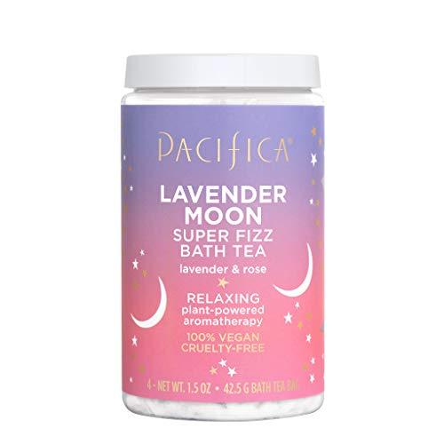 Pacifica Lavender Moon & Rose Super Fizz Bath Tea - 1.5oz
