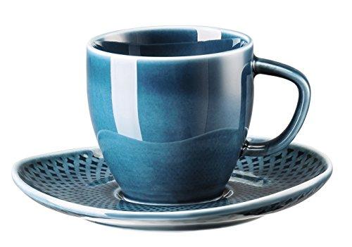 Rosenthal Junto Ocean Blue Espressotasse im Geschenkkarton