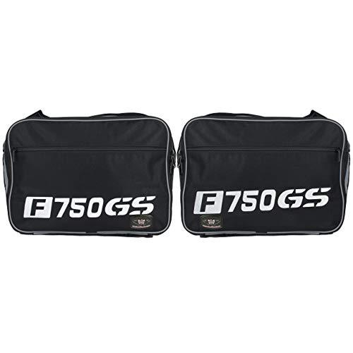GREAT BIKERS GEAR - Bolsas para equipaje BMW F750GS Vario con un par impreso.