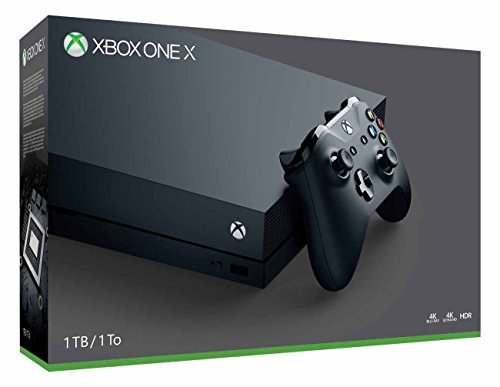 Microsoft - Xbox One X 1TB Console with 4K Ultra Blu-Ray - Black