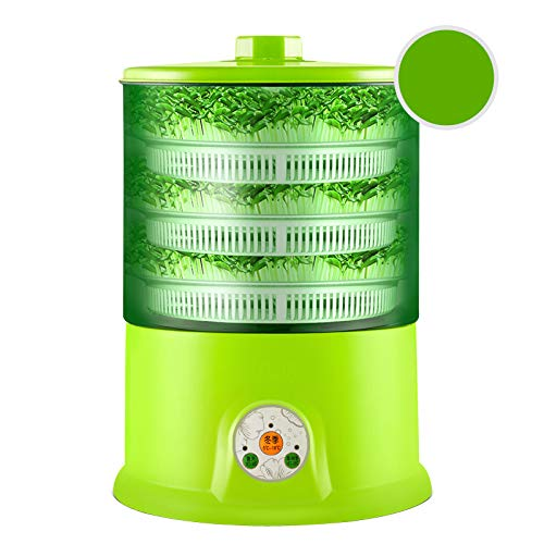 Vermeerderaars, Intelligent Taugé Machine Grow Automatic Grote Capaciteit Thermostaat Green Seeds Growing Automatic Bean Sprout Machine
