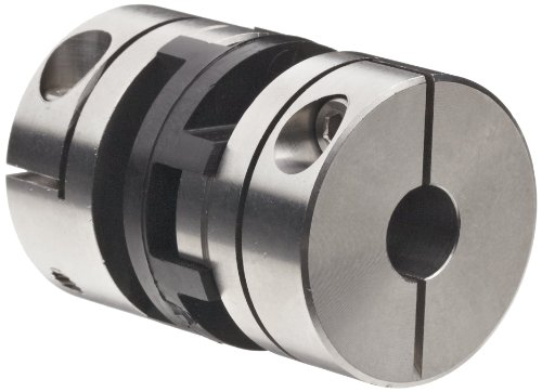Huco 866.41.3636.Z Size 41 Oldham Coupling, Stainless Steel, Inch, 0.5
