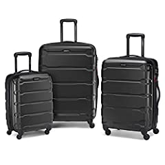 "Set includes 20"" carry on (Meets carry-on size restrictions for those traveling domestically and looking to stay light) And 24""/28"" spinners (Maximize your packing power and the ideal checked bags for longer trips) 10 year limited warranty: Samsonite..."