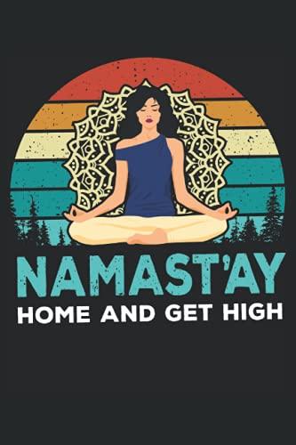 Notebook: yoga, karma, meditazione, allenamento, asana,: 120 pagine foderate - notebook, bookbook, diario, per fare lista, libro di registrazione, piano, organizza e nota.
