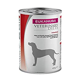 EUKANUBA Intestinal Wet Veterinary Food for Dogs with Intestinal Disorders – Pack of 6 x 400 g