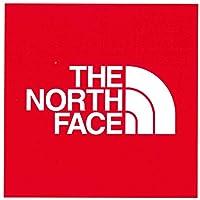 ザ ノースフェイス (THE NORTH FACE) ロゴステッカー TNF Square Logo Sticker NN32014 レッド