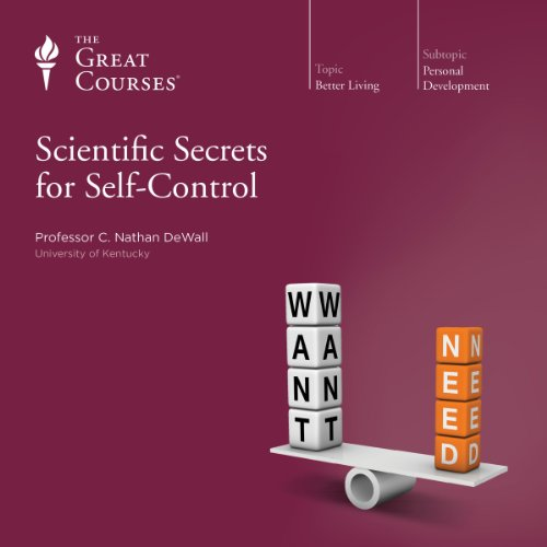 『Scientific Secrets for Self-Control』のカバーアート