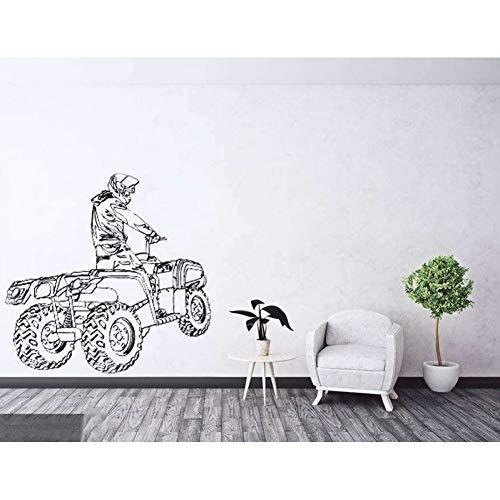 3D gomma Pad,Paraserbatoio,Coperture e rifiniture decorative Protector Fish Bone Decal Sticker per moto ATV veicoli,grigio