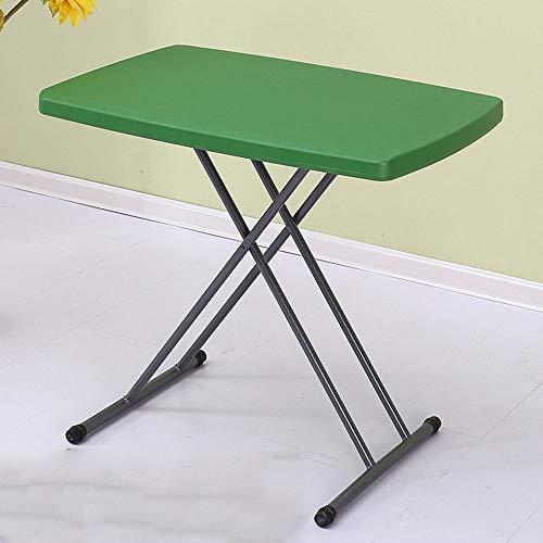 XUMINGZDY Klapp- und Klapptisch einfache Haushaltsmöbel Esstisch kleine Wohnung Tisch und Stuhl Esstisch Lernen tragbare Outdoor Klappstuhl quadratischen Tisch (Farbe : F)