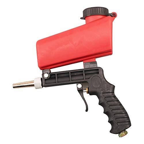 Tengan Kit de Pistola arenadora para Todos los proyectos de voladura, elimine Pintura, Manchas, óxido y Suciedad en Las Superficies Y Limpieza de Piscinas Kit de Pistola de Chorro de Arena y Famous