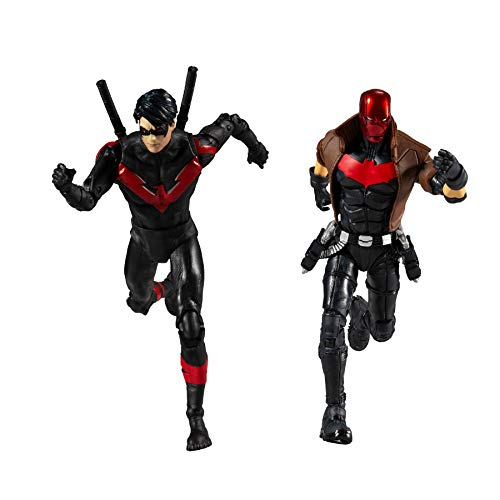 McFarlane Toys DC Multiverse Red Hood and Nightwing 7' Action Figure Multipack