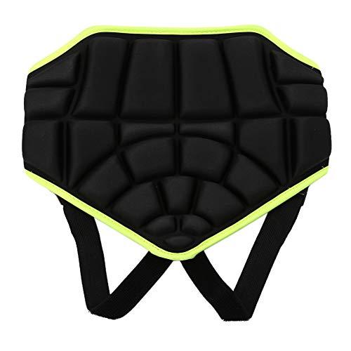 Fsskgxx 3D Acolchado Protector de Cadera, Pantalones Cortos para niños a Tope Antideslizante Deportes Pantalones Cortos Acolchados Protectores de Cadera para Skate ski Boarding Soccer