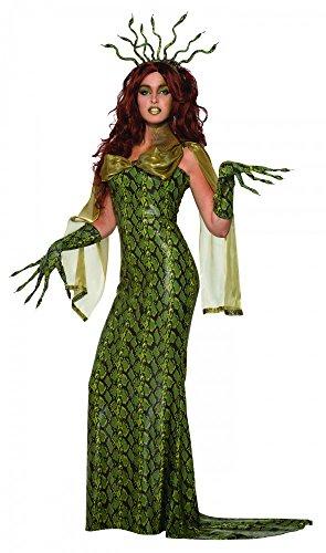 shoperama Medusa Damen Kostüm Gr. S/M Schlangen Mythologie griechische Göttin
