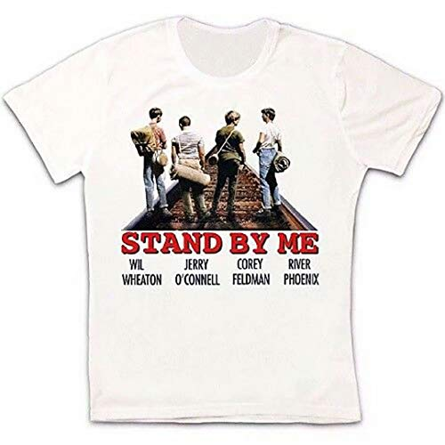 Stand By Me Classic Comedy Movie Poster Retro Vintage Hipster T Shirt 87
