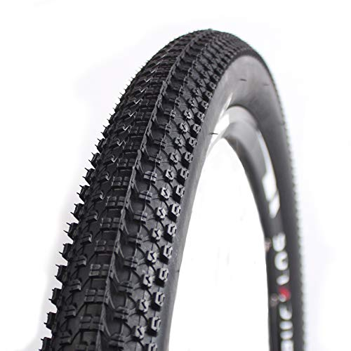 BUCKLOS K1047 MTB Unfold Tire 26 x 1.95 60TPI Casing, Small Block 8 DTC Mountain Bike Wire Bead Tires Tubeless, Fit AM BMX XC DH FR