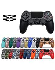 YYCH PC Games Bluetooth Senza Fili Joystick for PS4 Controller, for Mando PS4 Console, for Playstation Dualshock 4 Gamepad, for PS3 .Controller di Gioco Mobile (Color : Camo Green)