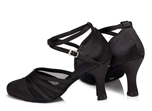 Minitoo ,  Damen Tanzschuhe , Schwarz – schwarz – Größe: 36.5 - 4