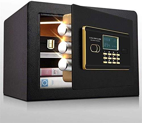 XHMCDZ Joyería de lujo caja de seguridad electrónica digital de seguridad Bloqueo de teclado del Ministerio del Interior del hotel de negocios efectivo del almacenaje del uso de dinero fuerte, oficina