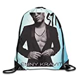 Lawenp AlexisW Lenny Kravitz Strut Backpack Gymsack Drawstring Bags Borsa da Palestra per Uomo e Donna