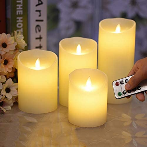 XuetongXT Alternative Flameless Remote Control Led Wax Direct store W Candles New arrival