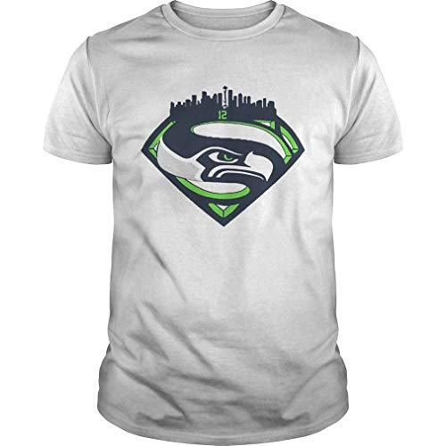 Goldstation Seattle Seahawks Superman 12 Shirt T-Shirt, Pullover Hoodie, Long Sleeve, Swearshirts