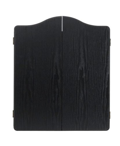 WINMAU Black Deluxe Dartscheibe Schrank