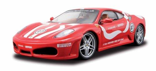 Maisto - 39110 - Voiture sans pile - Reproduction - Ferrari F430 Challenger Frofeo Pirelli Red - échelle 1/24 + trousse de montage - 8 ans et +
