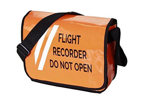 Take-off Aviation Stuff Umhängetasche FLIGHT RECORDER DO NOT OPEN